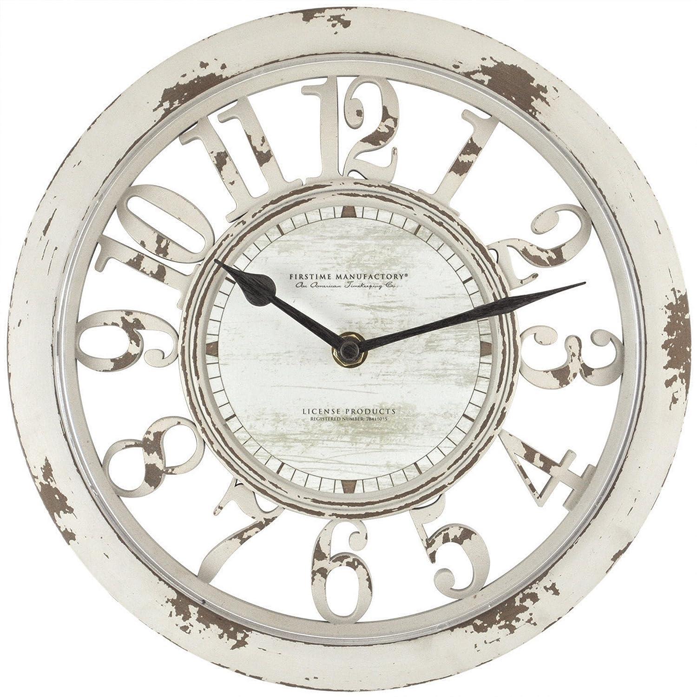 FirsTime Antique Contour Wall Clock