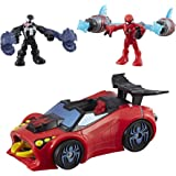 Playskool Heroes Marvel Super Hero Adventures Spider-Man Arachno Racer
