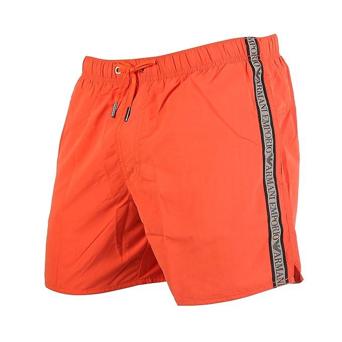 new products fad17 1cbe3 ARMANI JEANS Armani - Costume a pantaloncino con logo su ...