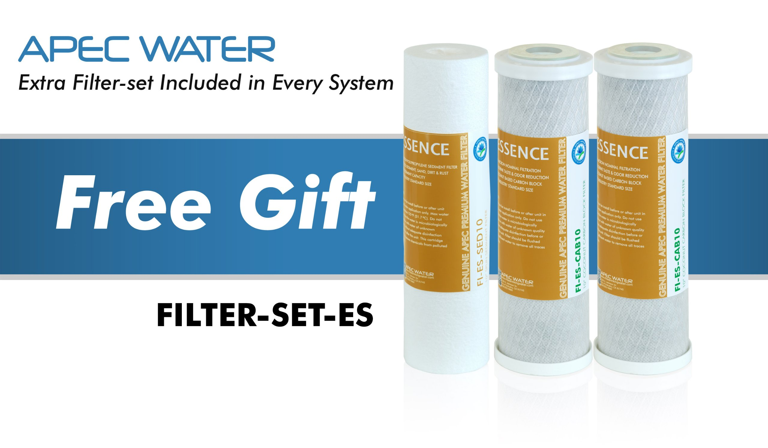 APEC Top Tier 5-Stage Ultra Safe Reverse Osmosis Drinking Water Filter System (ESSENCE ROES-50) by APEC Water Systems (Image #3)