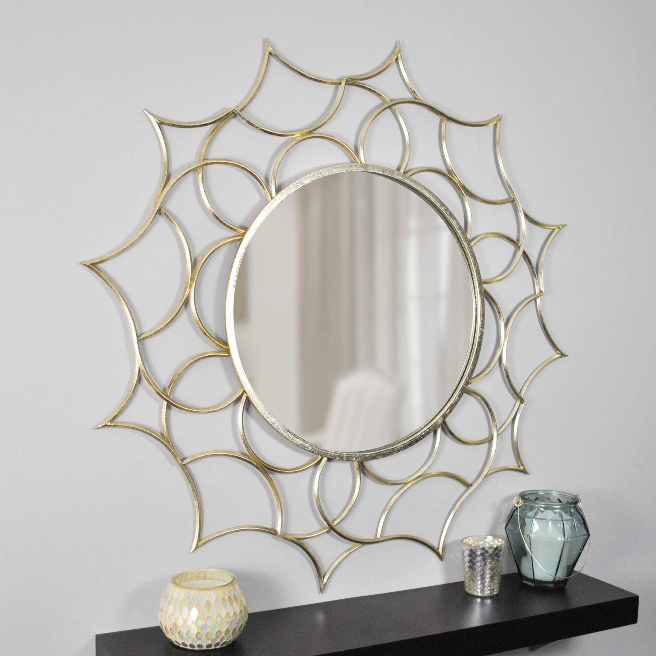 FirsTime & Co. 70016 Firstime Channing Gold Mirror, 37'',