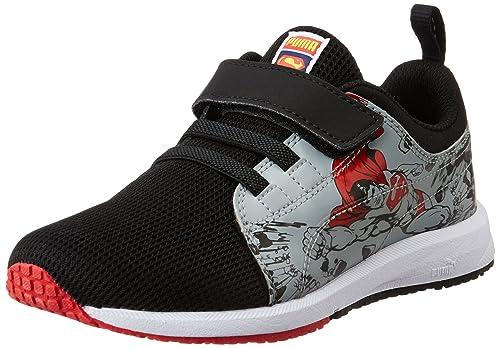Sneakers Scarpe Carson Superman Kds Rosso Per Grigio Puma Nero Moda pfxnatX