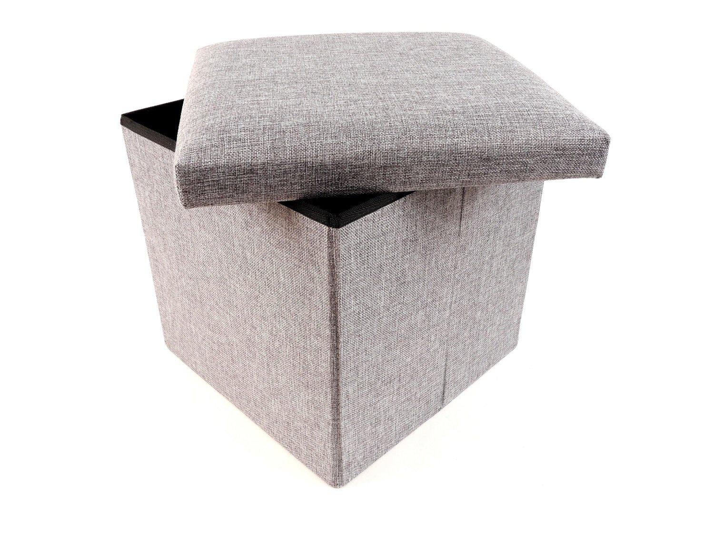 Hocker mit stauraum manolo weiß möbel höffner