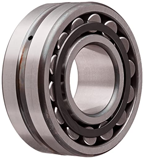 40mm ID Metric FAG 22208E1-C4 Spherical Roller Bearing 80mm OD C4 Clearance Steel Cage Straight Bore 23mm Width