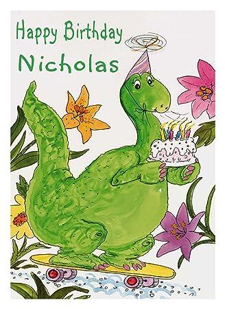 Nikolaus Geburtstag Karte Amazon De Burobedarf Schreibwaren