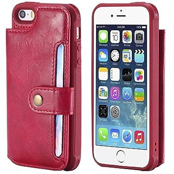 coque magnetique rouge iphone 5