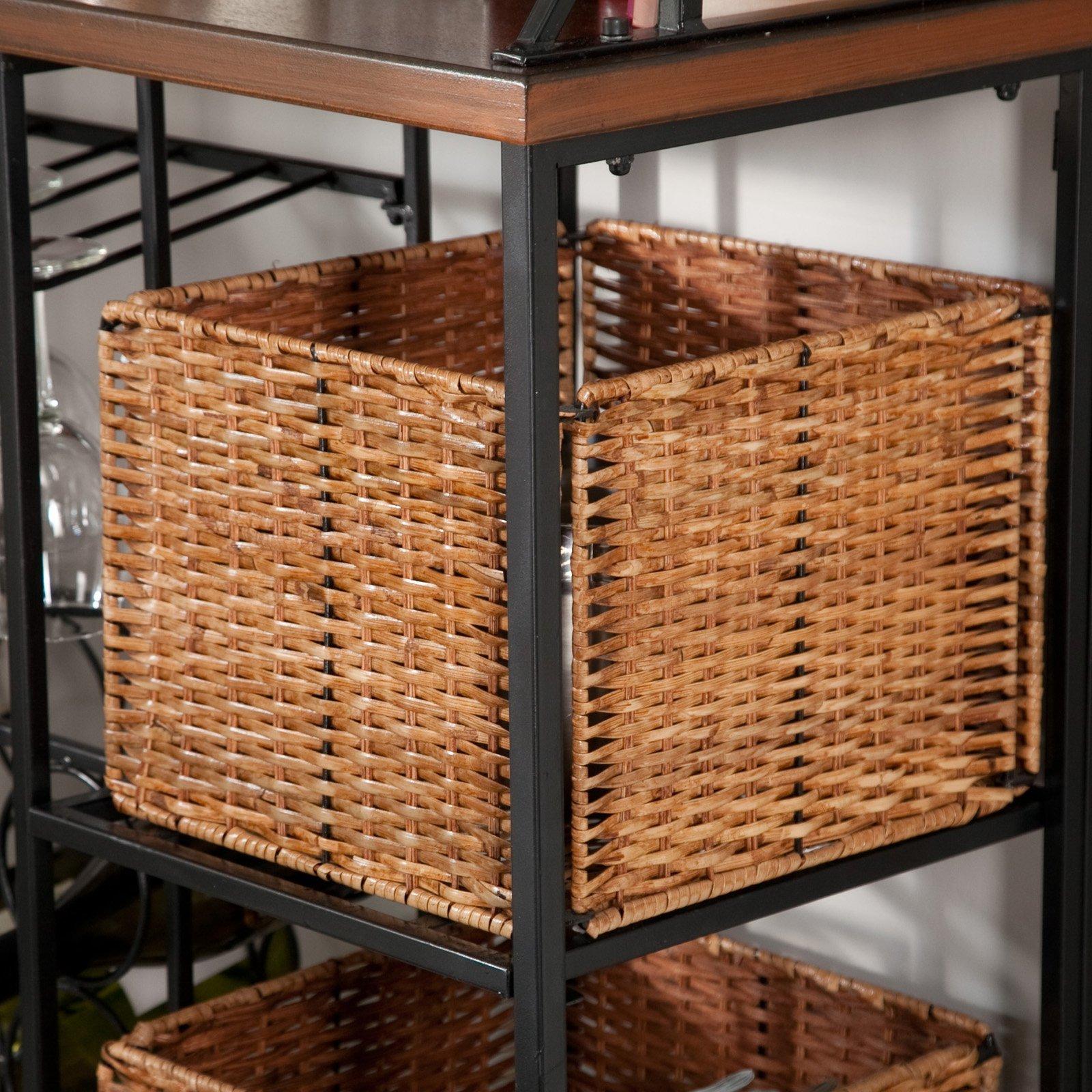 Belham Living Solano Bakers Rack with Baskets by Belham Living (Image #6)