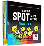 A Little SPOT Takes Action! Box Set (8 Books: Kindness, Responsibility, Patience, Respect, Honesty, Organization…