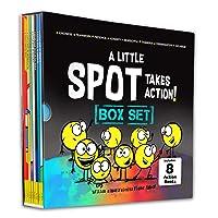 A Little SPOT Takes Action! Box Set (8 Books: Kindness, Responsibility, Patience, Respect, Honesty, Organization, Diversity, & Safety)