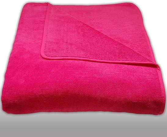 Extra Grande 100% algodón toalla de playa vacaciones Toallas 600 g/m² – 170 cm x 200 cm: Amazon.es: Hogar