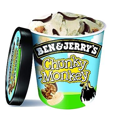 Ben & Jerrys Chunky Monkey Helado 500ml