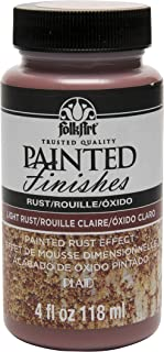 product image for FolkArt Painted Finishes (4 Ounce), Light Rust, 4 oz