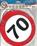 Folat Creative Geburtstag Party Verkehrsschild 12Meter BANNER–70. Geburts