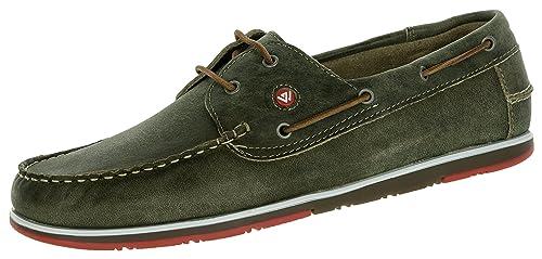 BEPPI 2163892 - Zapatos con Cordones de Piel Lisa Hombre, Color Verde, Talla 40 EU: Amazon.es: Zapatos y complementos
