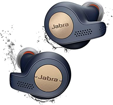 Amazon Com Jabra Elite Active 65t Replacement For Lost Or Damaged Earbud Copper Blue No Charging Case Included Electronics