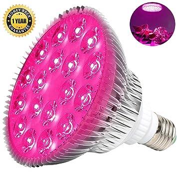 MILYN - Bombilla LED de 54 W para Plantas de Interior, lámpara de Planta de