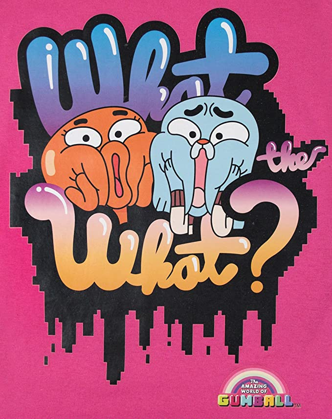 Amazon.com: Official Amazing World Of Gumball Girls T-Shirt (3-4 Years): Clothing