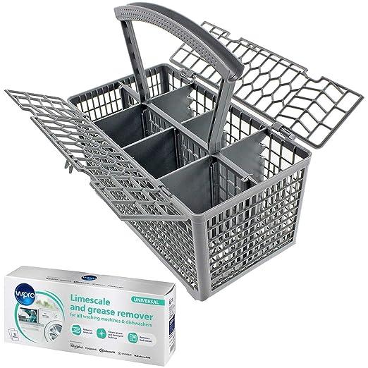 Spares2go - Cesta universal para cubiertos y bolsitas quitacal ...