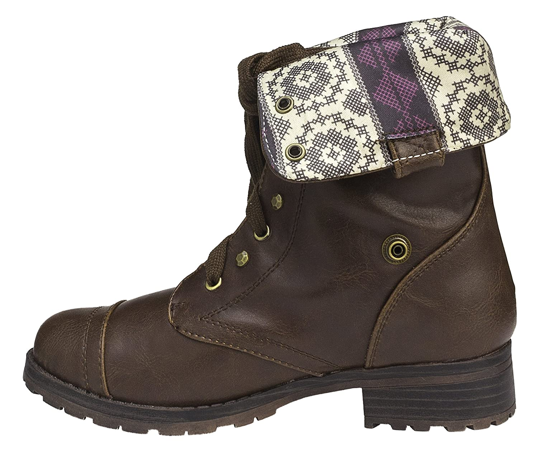Ryley Sky Girls Lynx Fold-Over Boots Little Kid//Big Kid