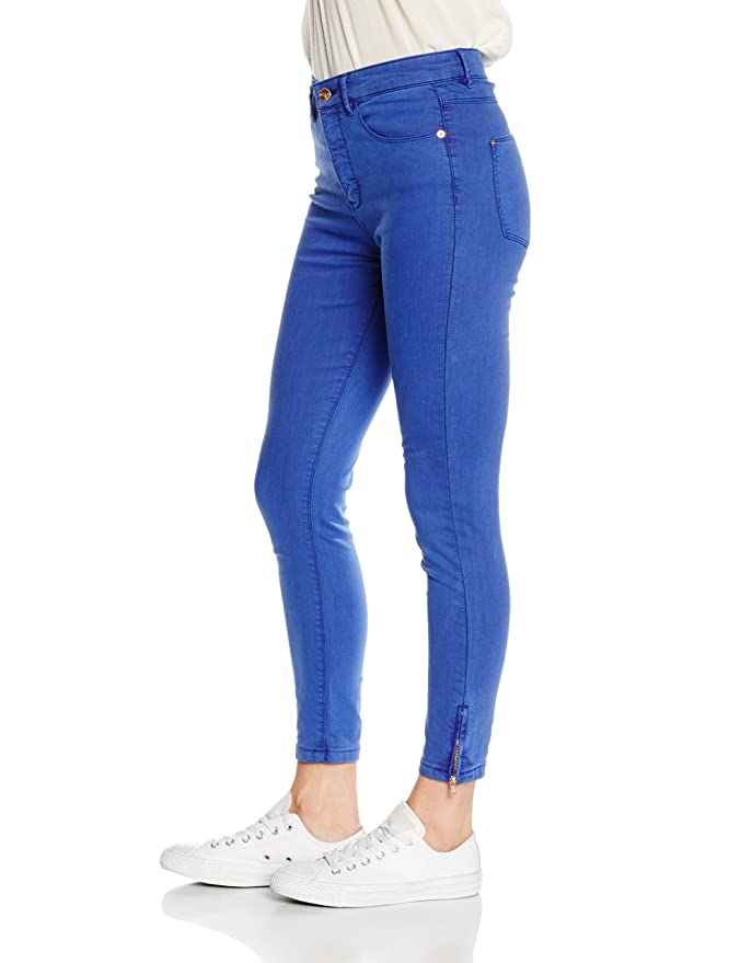 Cortefiel Damen Hose Jeans Skinny Cotton Cremall Bajo, Azul (Blues), 40:  Amazon.de: Bekleidung