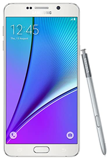 Samsung Galaxy Note 5 N920V Verizon Wireless Android Smartphone w/ 16MP  Camera - White (Renewed)