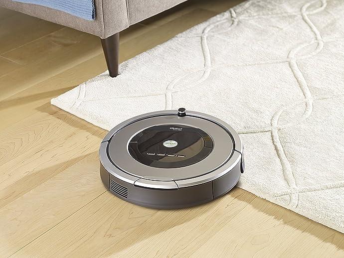 金盒特价 官翻版 iRobot Roomba 860 扫地机器人 6折$269.99 海淘转运到手约¥2245