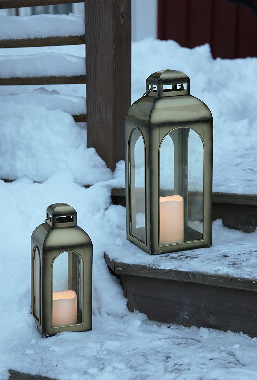 Iovivo led, - Linterna led, Iovivo Parpadeo, Bronce 28 cm x 11 cm 363ffd