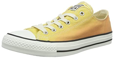 b7296a4bf15c05 Image Unavailable. Image not available for. Colour  Converse All Star Ox  Womens Sneakers Orange