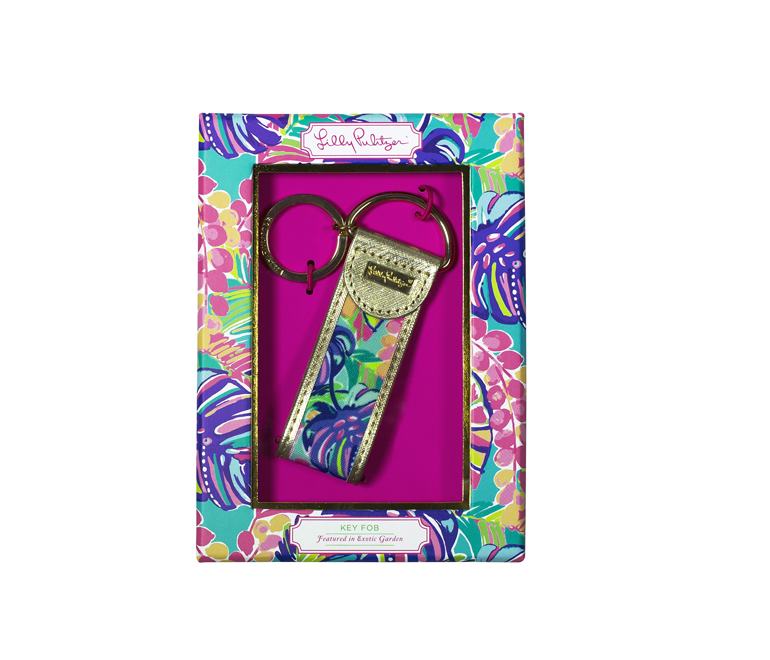 Lilly Pulitzer Exotic Garden Key Fob (163619)