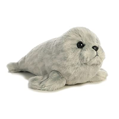 "Aurora - Mini Flopsie - 8"" Harbor Seal: Toys & Games"