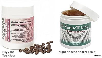 Reductores DUO Noche & Dia xxl - REDUCTLINE & CAFFEINE REDUCTOR. Efecto Anticelulítico. Todo Tipo de Piel. 2 X 500 ml