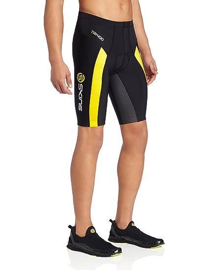 Amazon.com   Skinstri400 Men s Compression Shorts (Black White)   Athletic  Shorts   Sports   Outdoors 9e2968ae9