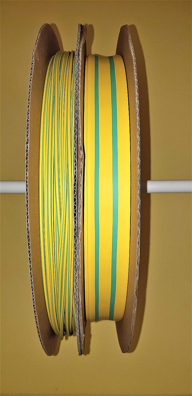 transparent gr/ün//gelb grau 1 meter Schrumpfschlauch 2:1 rot verschiedene Farben /Ø 1,2 bis 25,4 mm mm /Ø 2,4 mm, rot gelb blau braun usw