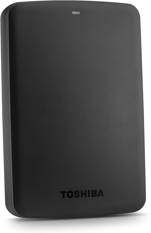 Toshiba Canvio Basics 2TB Portable Hard Drive - Black (HDTB320XK3CA)