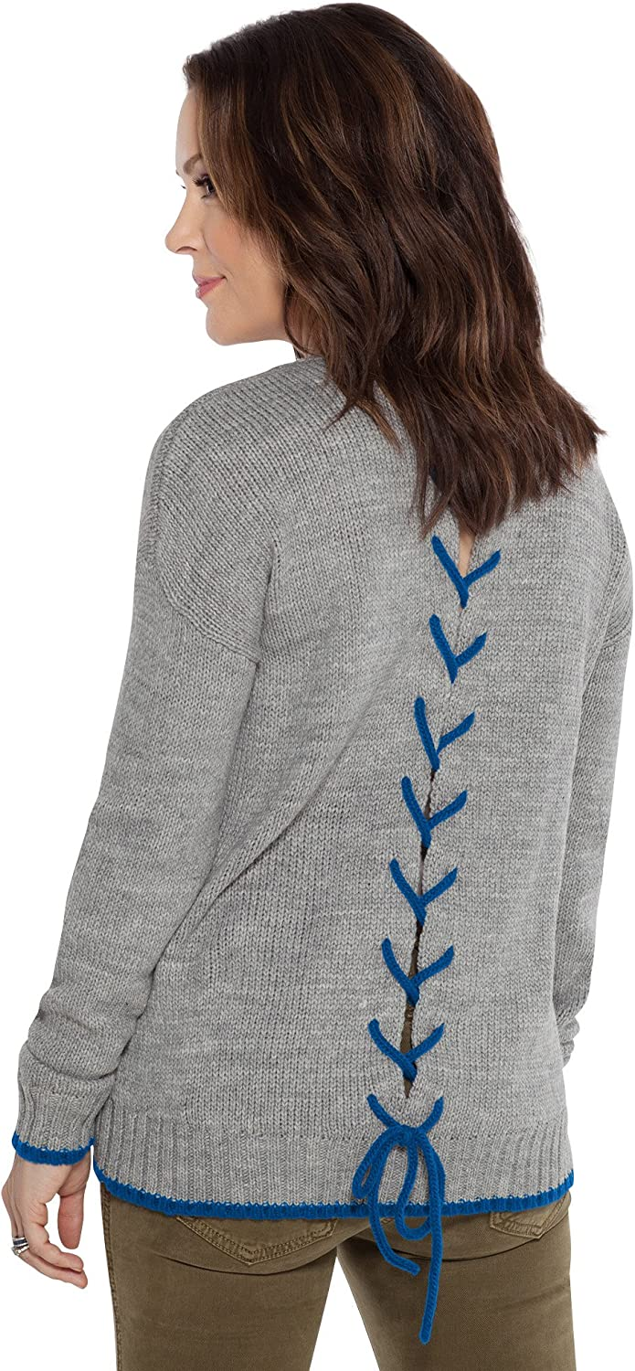 Touch by Alyssa Milano All Laced Up Sweater