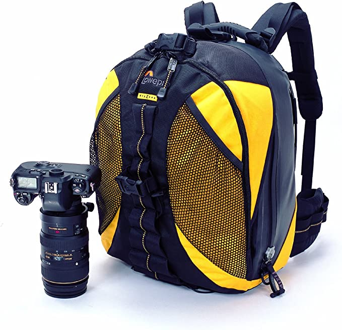 Lowepro DZ200 Dryzone Backpack - Mochila para cámaras, Amarillo