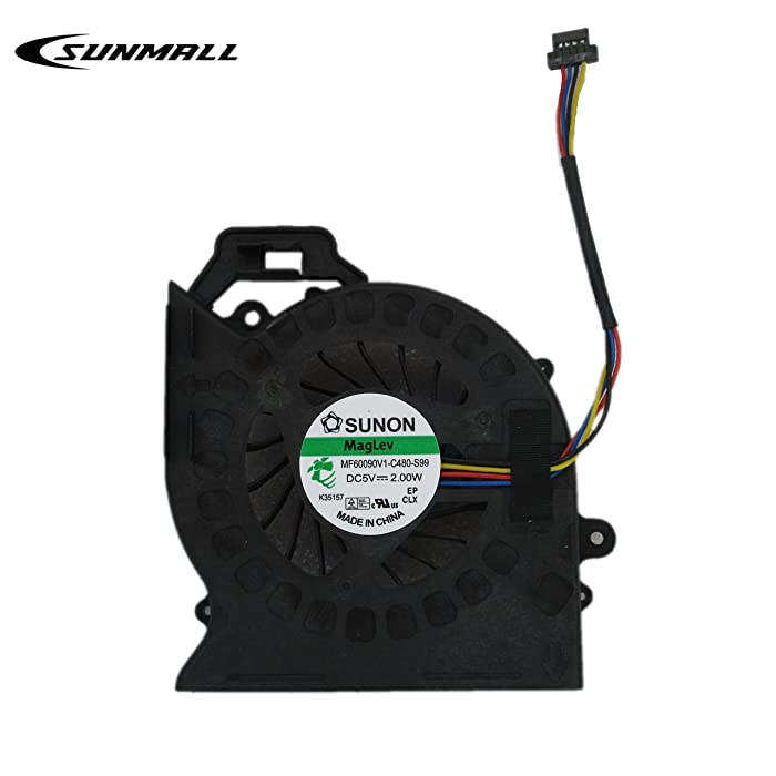 SUNMALL dv7 Fan Replacement for hp Laptop, New CPU Cooling Fan for HP Pavilion dv7-6b01xx dv7-6b32us dv7-6b55dx dv7-6b56nr dv7-6b57nr dv7-6b63us dv7-6b71nr dv7-6b73nr