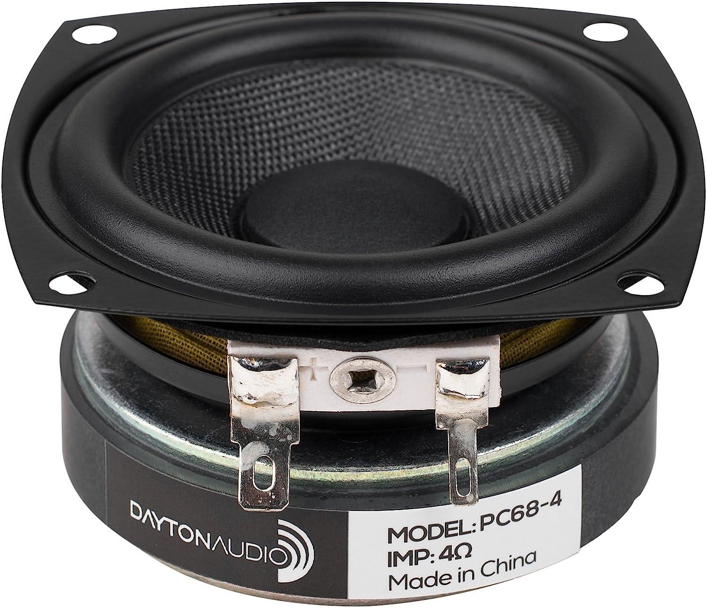 "Dayton Audio PC68-4 2-1/2"" Full-Range Poly Cone Driver"