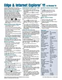 Microsoft Edge and Internet Explorer 11 for Windows 10 Quick Reference Guide (Cheat Sheet of Instructions, Tips & Shortcuts - Laminated Card) by Beezix Inc (2015-11-27)