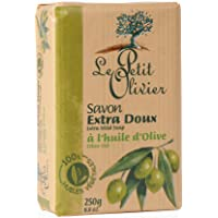 LE PETIT OLIVIER Extra Mild Surgras Soap Bar With Olive Oil, 250 gm