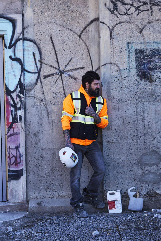 FR Cotton Duck Hi Vis Safety Vest Fire Resistant