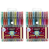 Sargent Art 22-1501 10-Count Glitter Gel Pens - 2 Pk