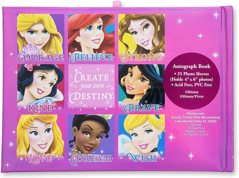 Disney Parks Disneyland Disney Princess Autograph Book 25 Photo Sleeves