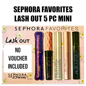 56d615b5f0a Sephora Favorites Inside JCPenney Lash Put Mascara Mini Travel Size Sampler  5 Minis No Voucher Included
