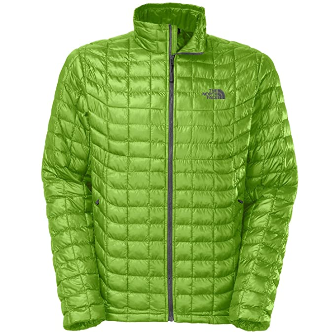 57a618655 THE NORTH FACE Men's Thermoball Full Zip Jacket, Scottish Moss Green ...