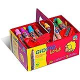 Giotto 4613 00 Schoolpack Supermatitoni Be-Bè, 7 mm, Confezione da 36