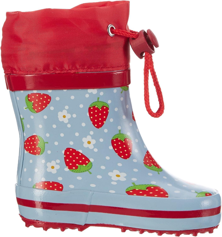 Beck Erdbeere Bottes /& Bottines de Pluie Fille