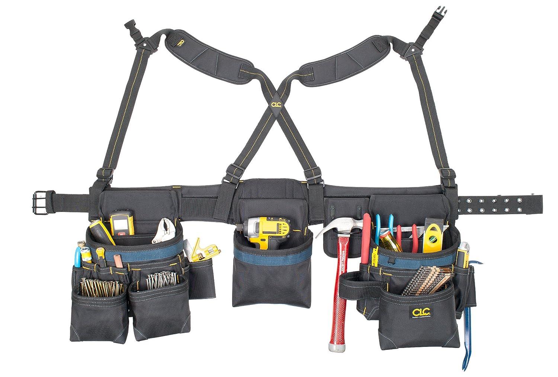 Custom Leathercraft 2617 28-Pocket Framing Master Tool Belt