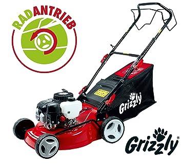 Grizzly Cortacésped de Gasolina BRM 4210-20 A 1.6 kW 2.1 HP 42 cm Ancho de Corte 5 Veces Ajuste de Altura: Amazon.es: Jardín