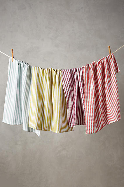Baker Stripe Dishtowel Set - anthropologie.c​om